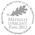 Medaille argent 2012-CGA